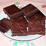 recette Brownie sans gras