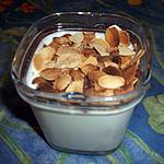 recette Yaourt fait maison abricot et amandes