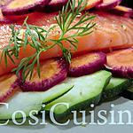 recette Papillote de saumon aux carottes mauves