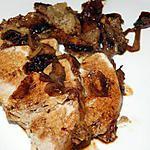 recette Rôti de dindonneau aux trois fromages