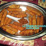 recette Bâtonnets aux crevettes