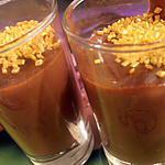 recette crème dorée au nutella