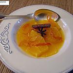 recette Soupe d'oranges aux épices