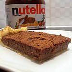recette flan patissier au nutella