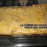 recette Lasagnes à la viande hachèe et aux 4 poivrons