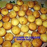 recette mini-muffins glacés au citron