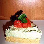 recette Cheesecake salé à l'avocat & pamplemousse