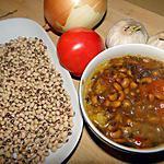 recette Curry de haricots doliques et pommes de terre