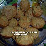 recette Muffins aux miettes de thon et aux cornichons
