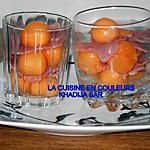 recette Verrines sucrèes-salèes(melon-jambon)
