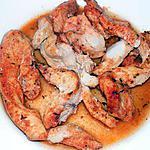 recette Poulet au four kebab