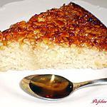 recette Gâteau aux amandes caramélisées