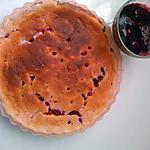 recette gateau nuage aux fruits rouges & fromage blanc (sans MG)