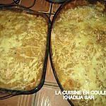 recette gratin de poisson et de crevettes sauce mornay