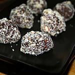 recette Truffes au Chocolat Enrobées de Cacahuètes, Piment D'espelette et Fleur de Sel