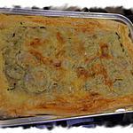 recette Tourte courgette/jambon/poivrons