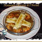 recette Scampis aux chicons/orval