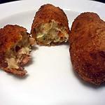 recette Petites merveilles croustillantes .. croquettes de crevettes