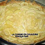 recette tarte facile aux fruits(pommes)