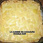 recette tarte facile aux fruits (ananas)