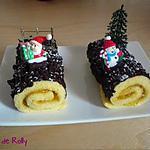 recette Petites bûches de Noël