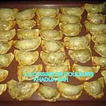 recette chaussons au jambon et aux fromages