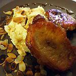"""recette """" Côtes de porc... caramélisées .. au miel et sa purée maison....""""  Un vrai délice...."""