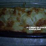 recette clafoutis aux pommes et à l'ananas