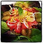 recette Salade minute, Poulet saveurs asiatiques...