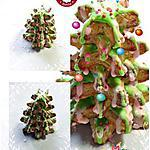 recette Sapin de Noël  à la cannelle, orange