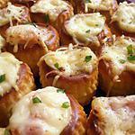 recette minis bouchées chaudes au jambon (apéro en famille)