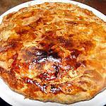recette Tourte aux pommes et aux raisins verts (dessert anglais)