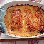 recette Gratin de poireaux au jambon