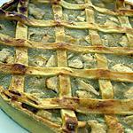 recette Tourte aux pommes façon crostata