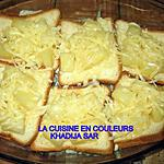 recette Croques ananas-fromage