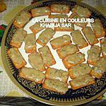 recette Canapés Salés au fromage