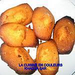 recette madeleines( 1 ére version)