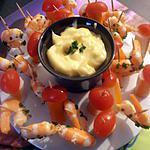 recette ronde de la mer (apéro en famille)