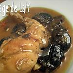 recette Lapin aux Pruneaux et Pain d'Epices (nord)