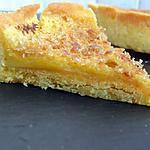 recette Tarte à la fève tonka façon crème brulée