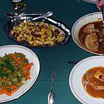 recette Rôti de veau et ses petits légumes