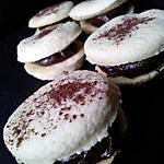 Macarons sablé au nutella