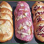 recette Déclinaison de Tuiles : amandes et framboises