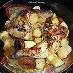 recette Cuisses de poulet au miel et aux abricots