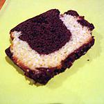 recette Cake Marbré Choco Coco