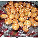 recette Madeleines aux sucres perlés