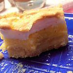 recette tarte à l'orange meringuée, pointe de cannelle  (crémaillère)