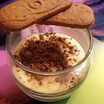 recette tiramisu aux spéculos version verrine pour crémaillère