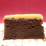 recette gâteau au chocolat et mascarpone, glaçage au chocolat blanc