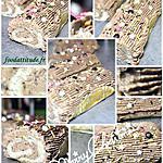 recette Bûchettes mascarpone chocolat craquant à la minute. : sans cuisson.